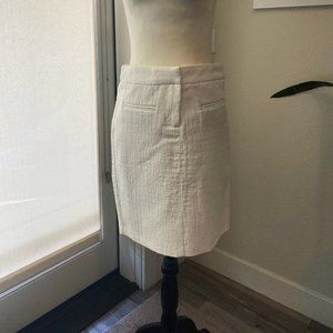 Cynthia Rowley White Pencil Skirt